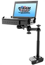 No-Drill™ Laptop Mount for the Ford Transit